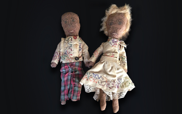Primitive Folk Art Rag Dolls