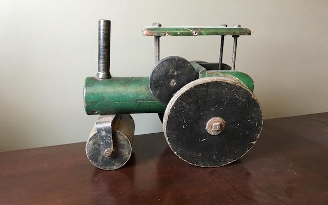 Folk Art Toy Steamroller