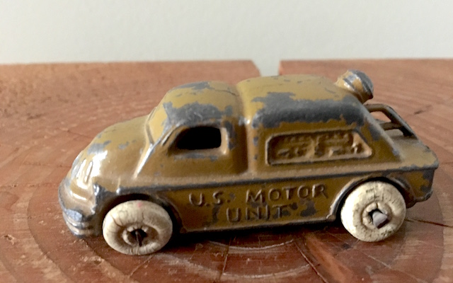 US Motor Unit Slush-Cast Toy